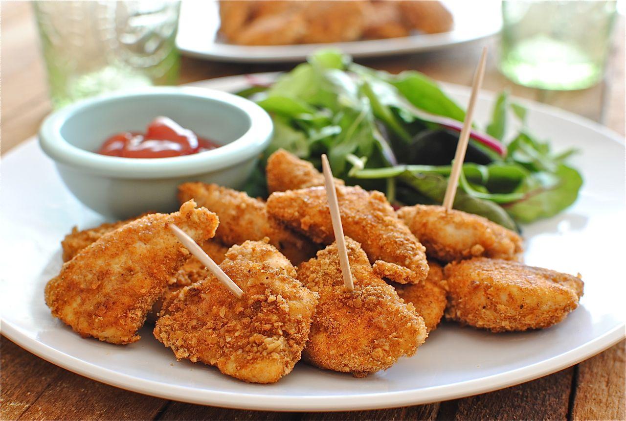 Куриные наггетсы с сыром на сковороде рецепт с фото 71